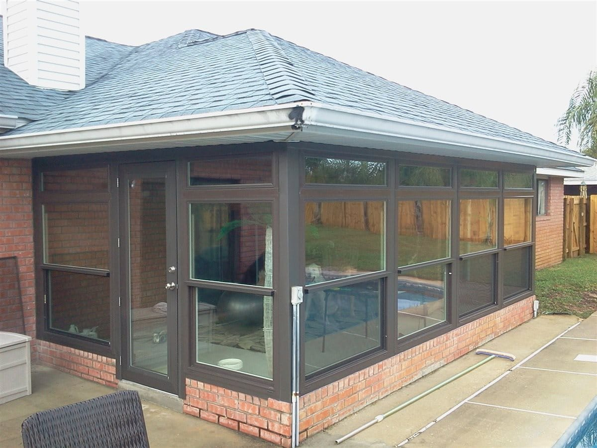 Patio enclosures sunrooms folkers window and home for How to build a florida room