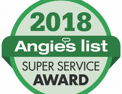 Folkers Window Company Earns 2018 Angie's List Super Service Award