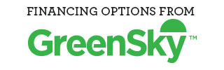 Financing available through Green Sky Financing