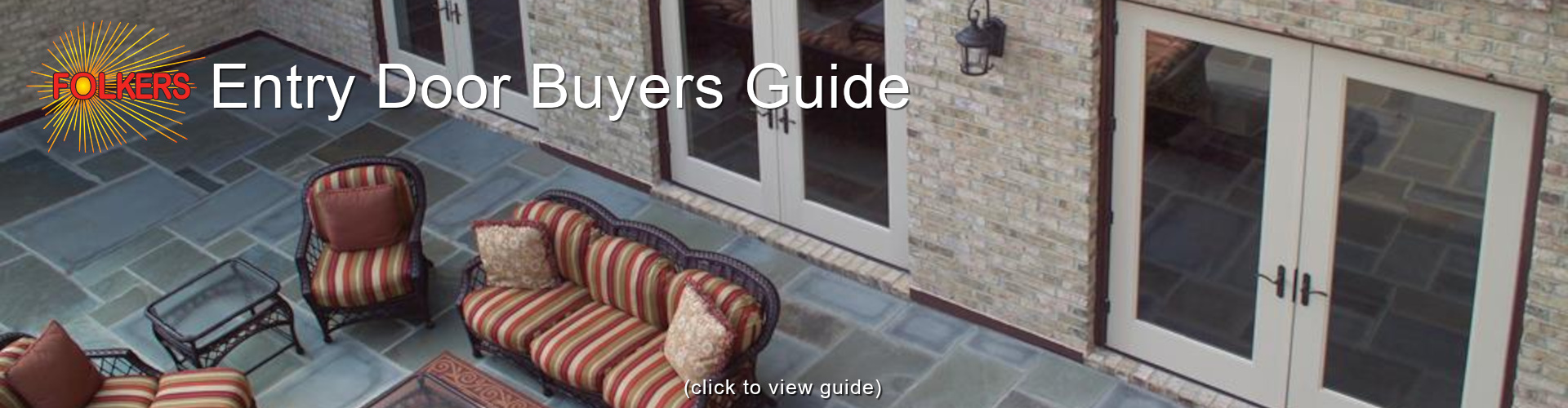 Folkers, Buying Guides, Entry Door Buying Guide